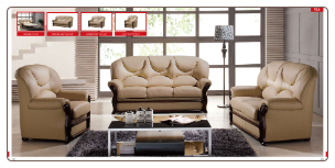 ESF  -  926 Living Room Furniture Sofa Set by ESF