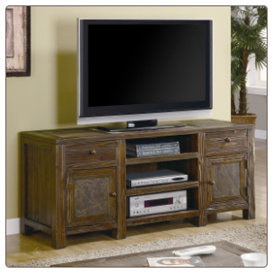 Dark Brown TV Stand by Coaster