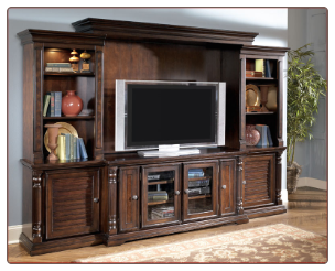 Key Town Entertainment Wall Signature Design by Ashley Furniture