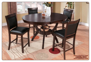 •Solid Wood Dining Set