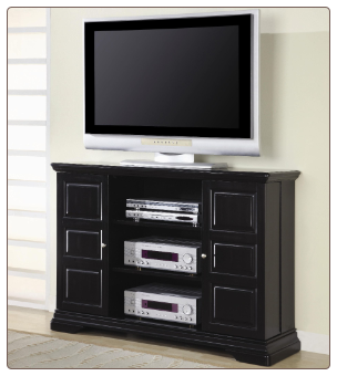 TV Stands Classic Media Console with Doors and Shelves by Coaster