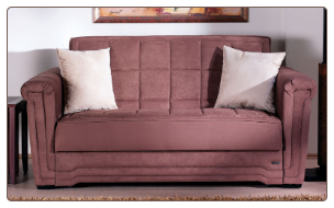 Victoria Loveseat Sleeper in Obsession Truffle - Sunset Furniture-Istikbal SKU #: IS-Victoria-Truffle