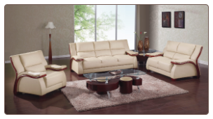 A167 Living Room Set - Cappuccino - Global Furniture