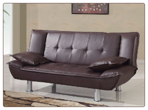 SB012 Sofa Bed - Brown- Global Furniture
