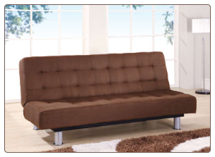 SB010 Sleeper Sofa - Brown Microfiber - Global Furniture