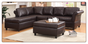 Homelegance - Levan Upholstered Sectional by Homelegance Furniture.