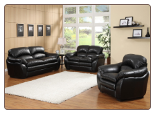 Contemporary Living Room Set Buford Sofa Set - Homelegance
