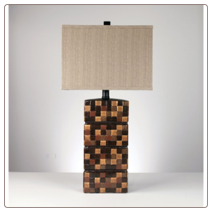 Famous Brand Lamps | Helki Set of 2 Table Lamps Multi-Brown Ceramic L142084by Signature Design by Ashley
