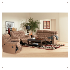 Sullivan 2 Piece Motion Sofa Set in Mocha  Microfiber COA-600341