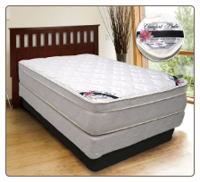 ComfortBedding -  450 Comfort Pedic Foam Encased