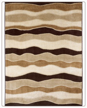 Signature Design by Ashley - Area Rug Frequency - Toffee