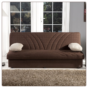Max Sleeper Sofa Bed in Naturale Brown - Sunset Furniture-Istikbal