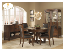 Avalon Collection - Round Dining Set