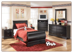 Huey Vineyard  - Twin Bedroom Set Signature Design by Ashley Furniture