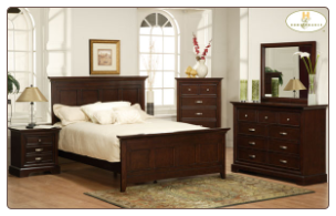 Glamour Collection - King Bedroom Set