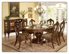 Prenzo Collection - Round/Oval Dining Table  Set