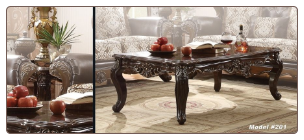 Top Quality Faux Marble Coffee Table Set