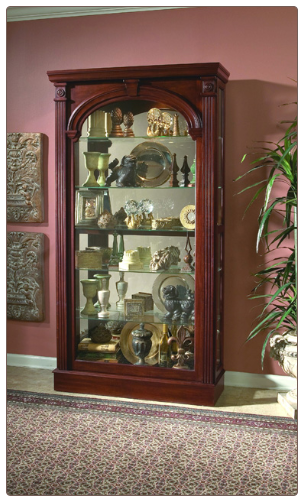 Wilshire Curio By Pulaski Furniture