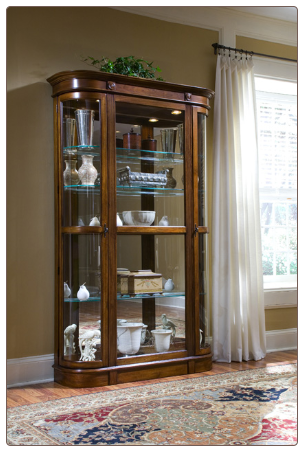 Salerno - Curio By Pulaski Furniture