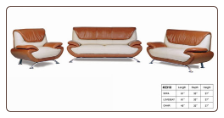 2310 Treaditional  2 PC Living Room Set (Sofa and Loveseat) Northca Furniture