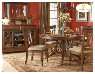 Eagle Collection - Round Dining Room Set