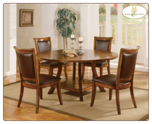 Barona Collection - Round Table Dining Room Set