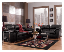 Commando Black - Living Room Set Signature Design by Ashley Furniture