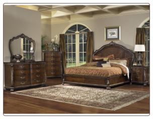 Murano - King Size Bedroom Set By Pulaski