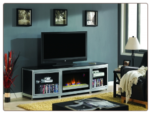 Gotham (2pc))  Fireplace