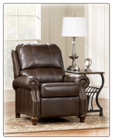 DuraBlend  Brindle - Low Leg Recliner Signature Design by Ashley Furniture