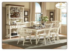 Lorna Collection (White) - Dining Room Set