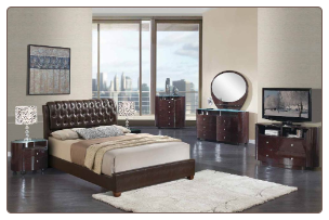 EMILY -Global Furniture USA Bedroom Emily BR8119/EMILY-CH By Global Furniture