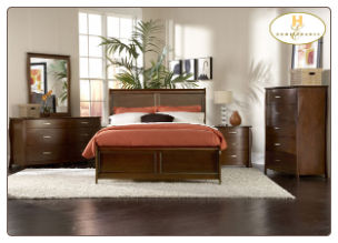 Beaumont Collection - King Panel Bedroom Set