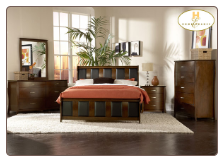 Beaumont Collection - Full Sleigh Bedroom Set