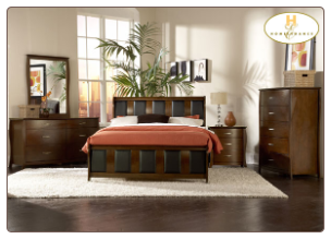 Beaumont Collection - Queen Sleigh Bedroom Set