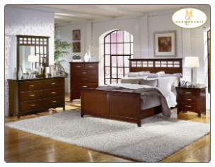 Mandalay Collection - Queen Bedroom Set