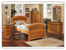 Deco Twin Bed Collection