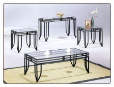 Matrix 3pc Coffee/End Table Set