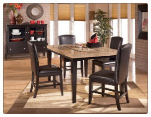 Naomi -  Dining Room Set with Rectangular Table Signature Design by Ashley Furniture