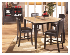 Naomi -  Dinette with Counter Height Table Set Signature Design by Ashley Furniture