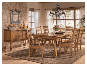 Holfield  -  Dining Table Set Signature Design by Ashley Furniture