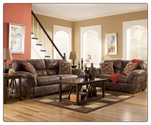 Frontier - Canyon Living Room Set Signature Design by Ashley Furniture