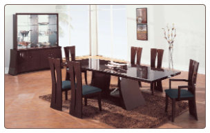 Rosa -    	Rosa-S Dining Set  By Global Furniture USA