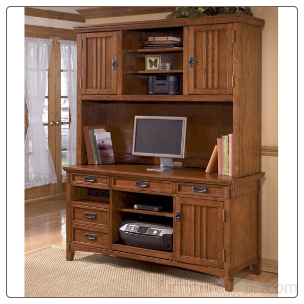 Cross Island Large Hutch Home Office Set Signature Design by Ashley Furniture