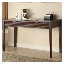 Hermann Transitional Table Desk with Drawers by Coaster
