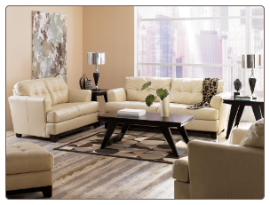 Martin - Oyster Leaving Room Set Signature Design by Ashley Furniture