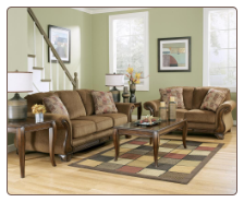 Montgomery - Mocha Living Room Set Signature Design by Ashley Furniture