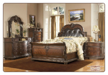 Palazzo - Handsome Bedroom Set with Sleigh Bed by Empire Collection