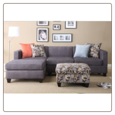POUNDEX 3 PCS SECTIONAL F7183