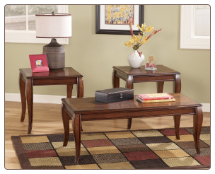 Mattie 3-in-1 Pack Occasional Table Set Signature Design by Ashley Furniture
